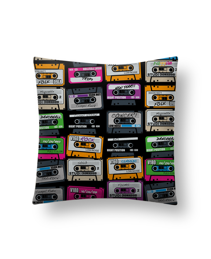 Cojín Piel de Melocotón 45 x 45 cm My First Playlist por PDT