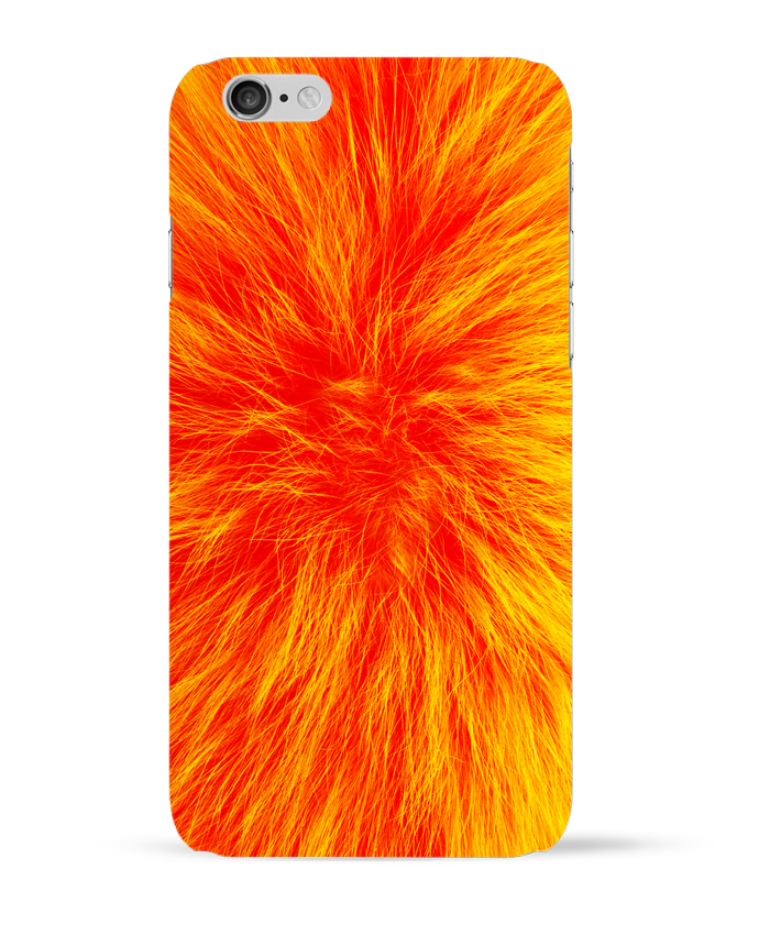 Carcasa  Iphone 6 Fourrure orange sanguine por Les Caprices de Filles
