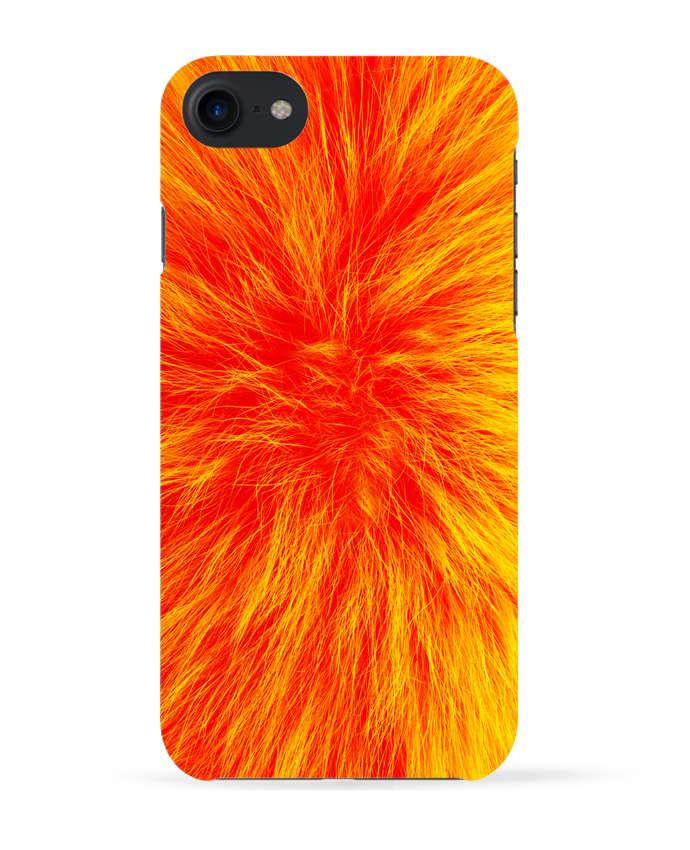 Carcasa Iphone 7 Fourrure orange sanguine de Les Caprices de Filles