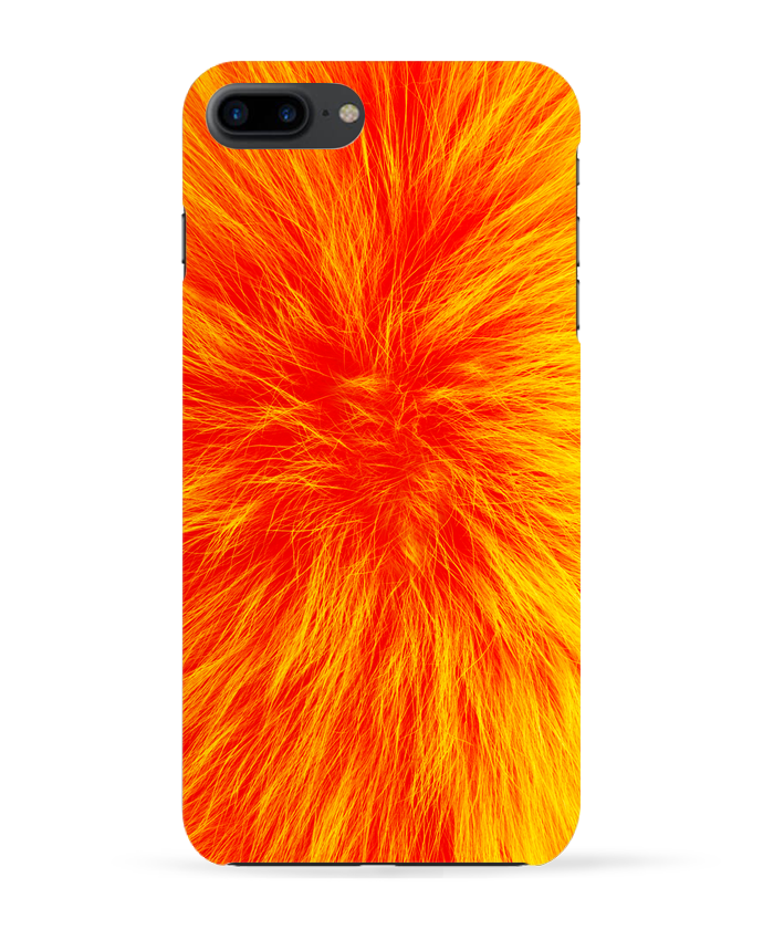 Carcasa Iphone 7+ Fourrure orange sanguine por Les Caprices de Filles