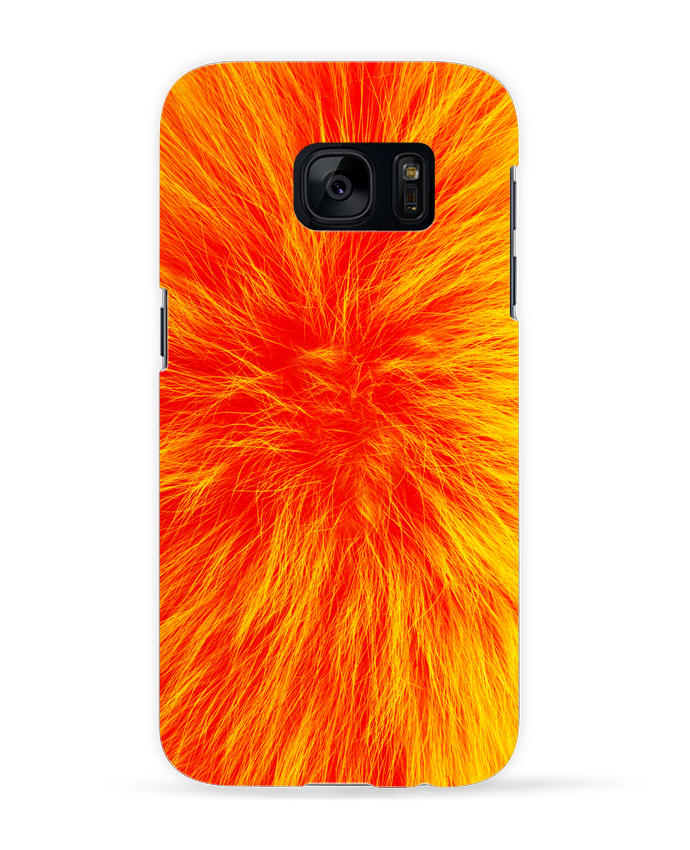 Carcasa Samsung Galaxy S7 Fourrure orange sanguine por Les Caprices de Filles