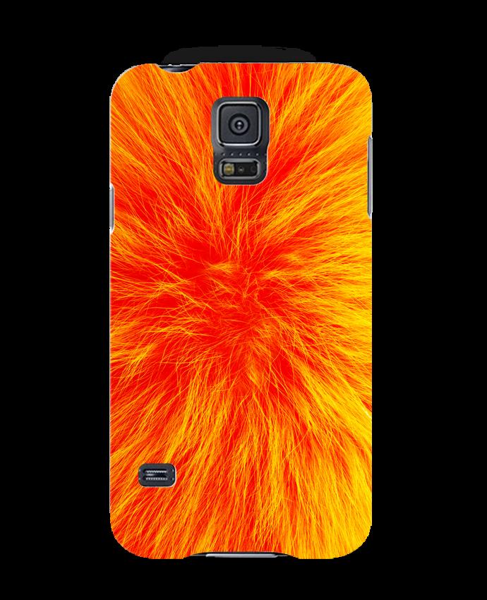 Carcasa Samsung Galaxy S5 Fourrure orange sanguine por Les Caprices de Filles