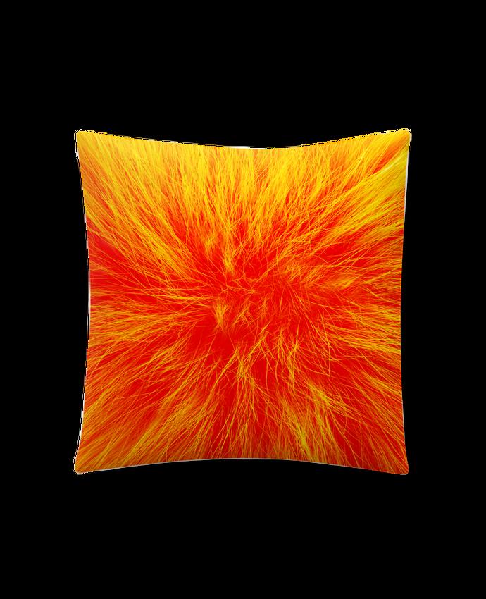 Cojín Sintético Suave 45 x 45 cm Fourrure orange sanguine por Les Caprices de Filles