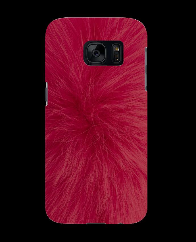 Carcasa Samsung Galaxy S7 Fourrure bordeaux por Les Caprices de Filles
