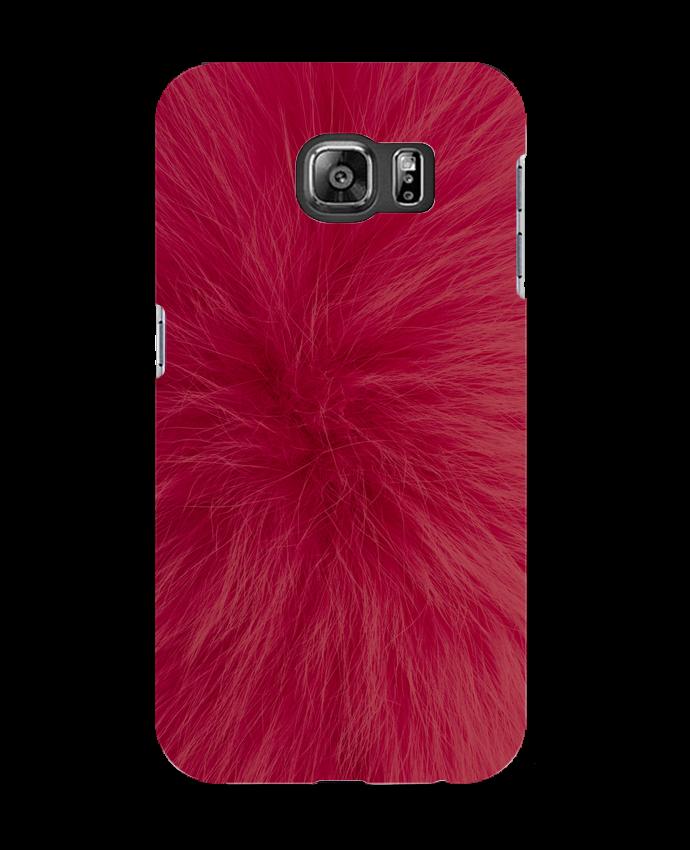 Carcasa Samsung Galaxy S6 Fourrure bordeaux - Les Caprices de Filles