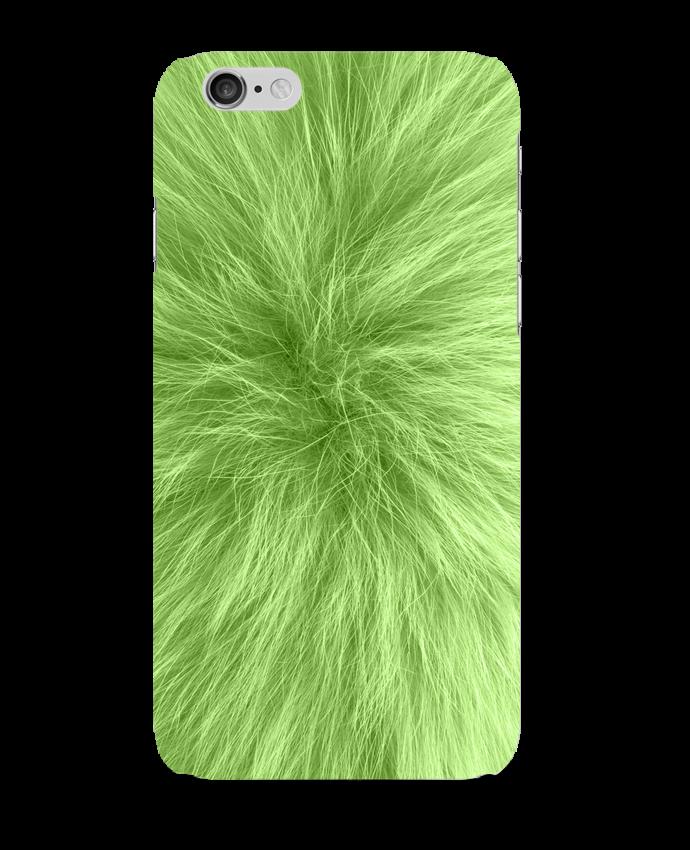 Carcasa  Iphone 6 Fourrure vert pomme por Les Caprices de Filles