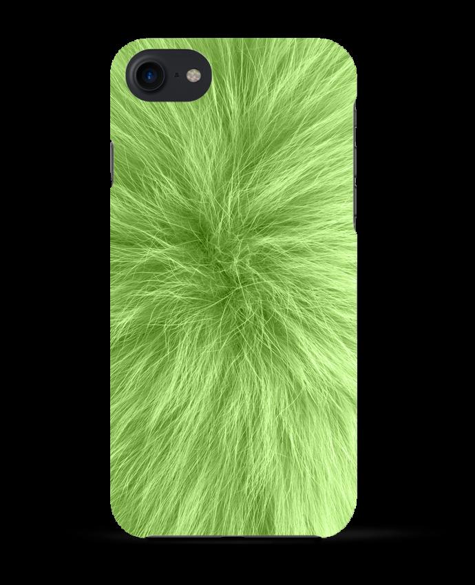 Carcasa Iphone 7 Fourrure vert pomme de Les Caprices de Filles