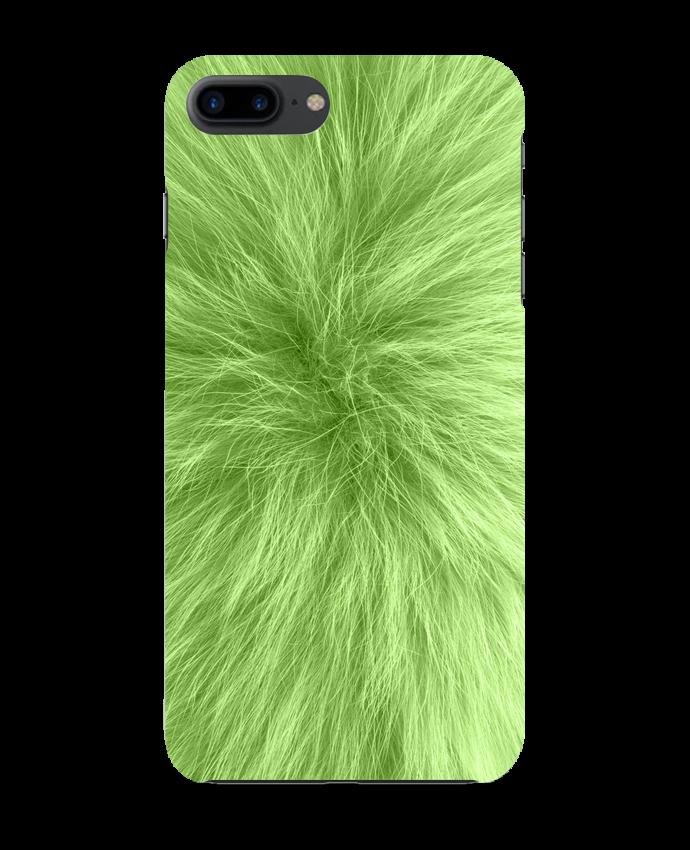 Carcasa Iphone 7+ Fourrure vert pomme por Les Caprices de Filles