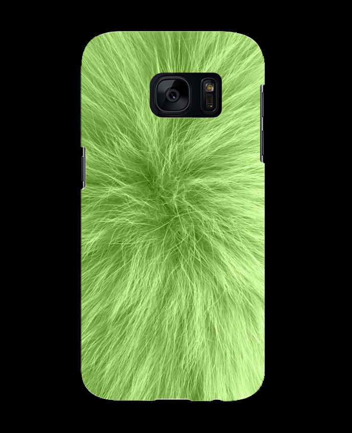 Carcasa Samsung Galaxy S7 Fourrure vert pomme por Les Caprices de Filles