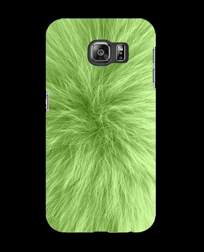 Carcasa Samsung Galaxy S6 Fourrure vert pomme - Les Caprices de Filles