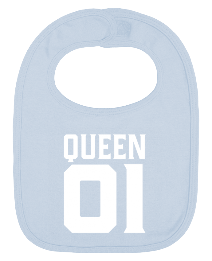 Babero Liso y Contrastado queen 01 t-shirt cadeau humour por Original t-shirt