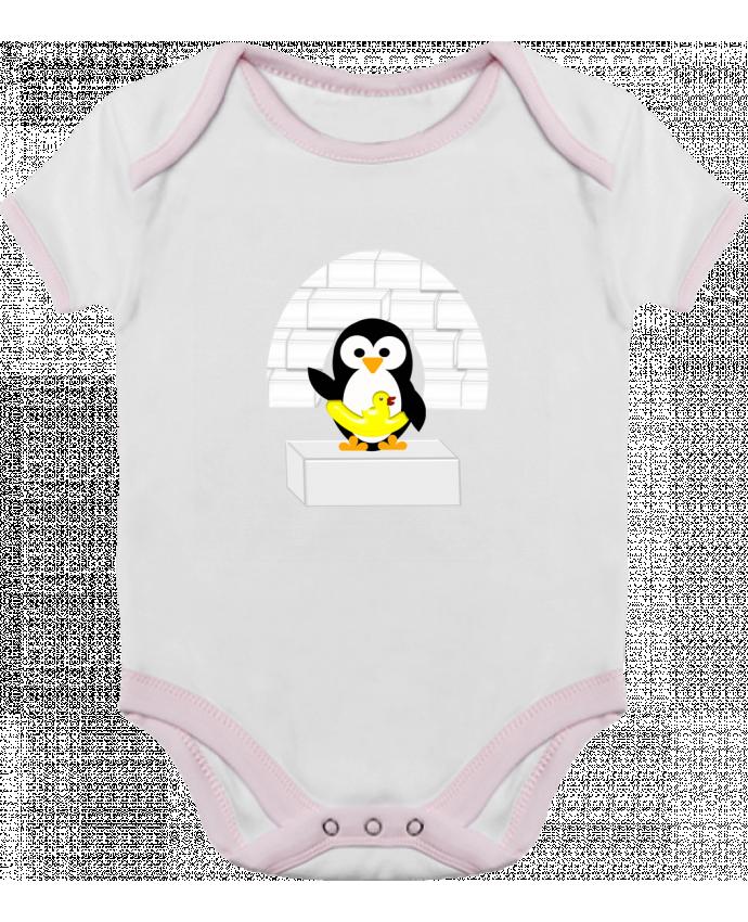 Body Bebé Contraste Le Pingouin por Les Caprices de Filles