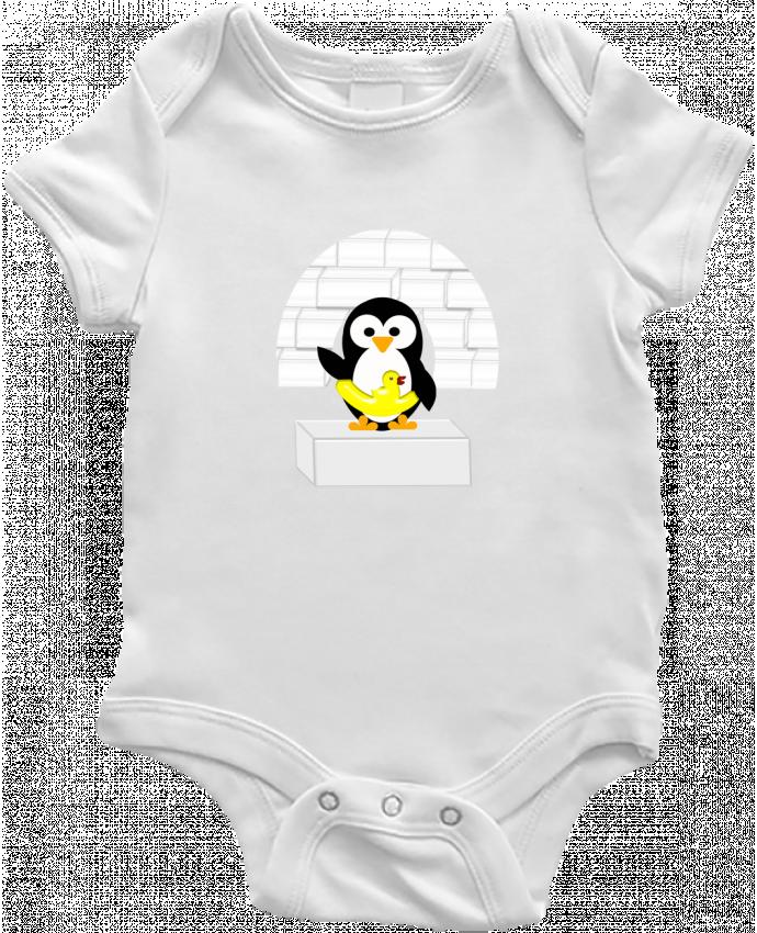 Body Bebé Le Pingouin por Les Caprices de Filles
