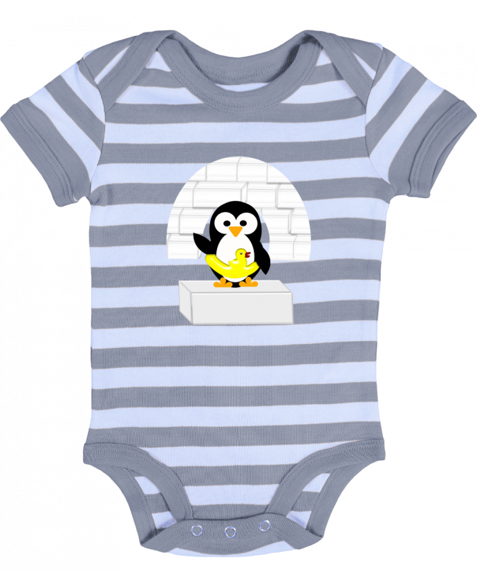 Body Bebé a Rayas Le Pingouin - Les Caprices de Filles