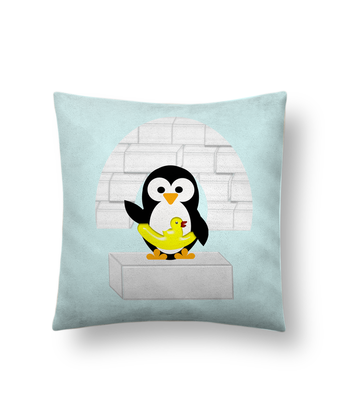 Cojín Piel de Melocotón 45 x 45 cm Le Pingouin por Les Caprices de Filles