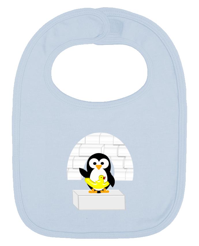 Babero Liso y Contrastado Le Pingouin por Les Caprices de Filles