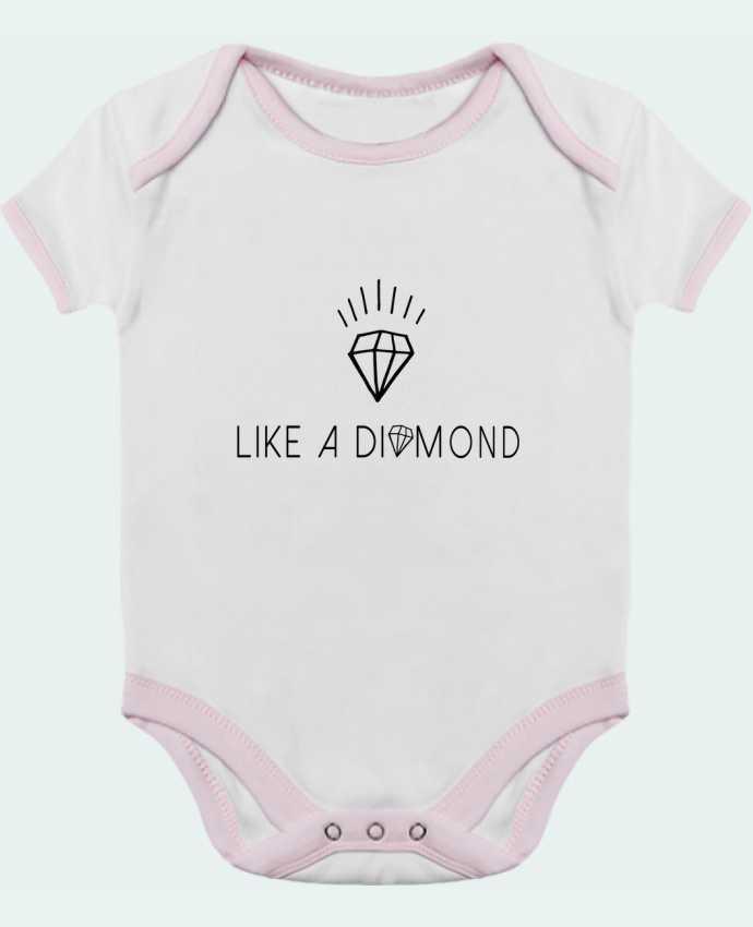 Body Bebé Contraste Like a diamond por Les Caprices de Filles