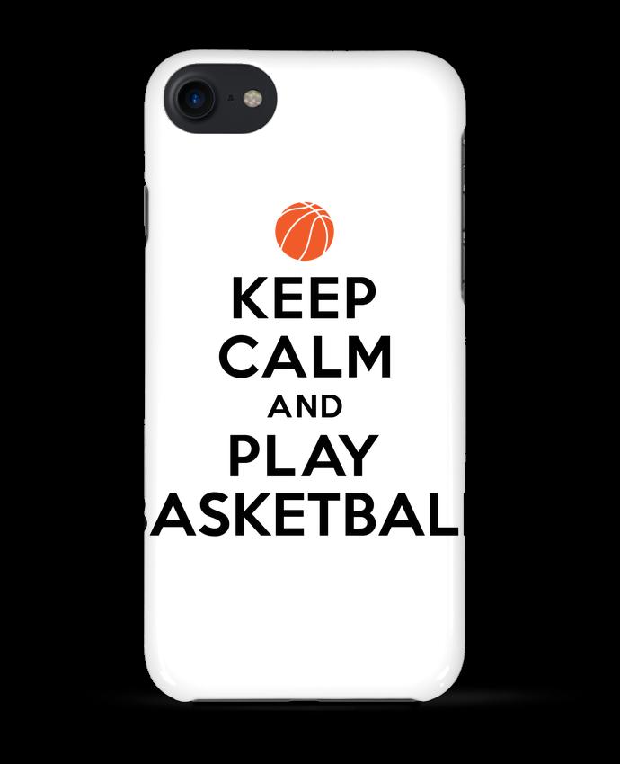 Carcasa Iphone 7 Keep Calm And Play Basketball de Freeyourshirt.com