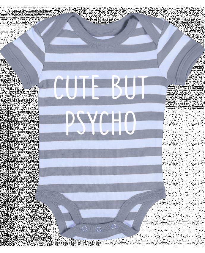 Body Bebé a Rayas Cute but psycho - Bichette