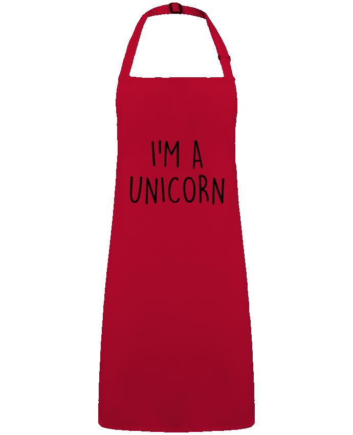 Delantal Sin Bolsillo I'm a unicorn por  Bichette