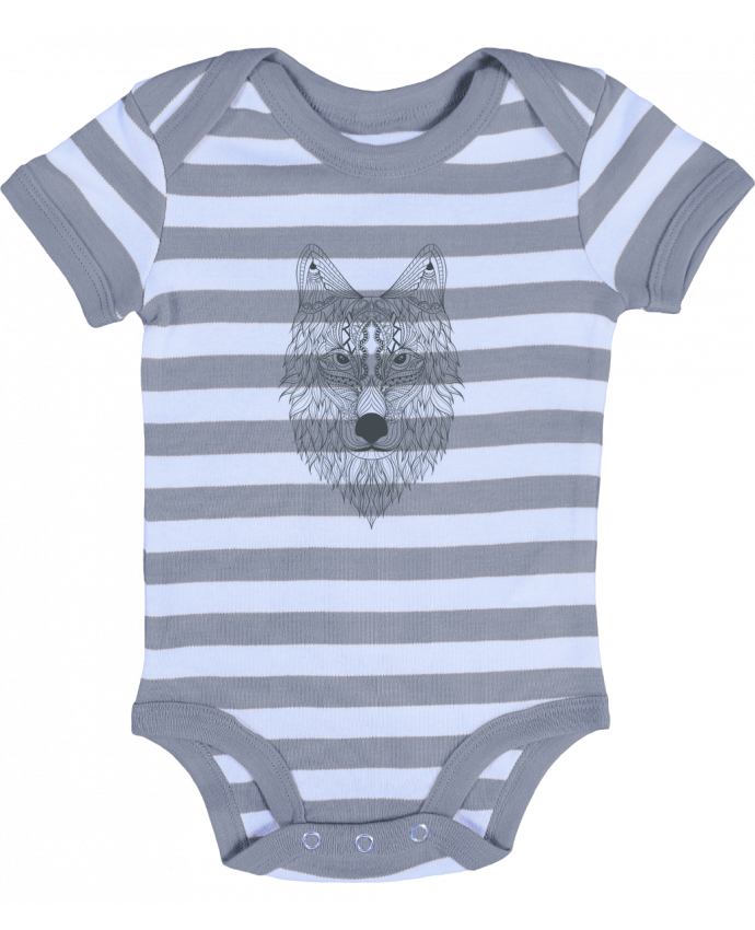 Body Bebé a Rayas Wolf - Bichette