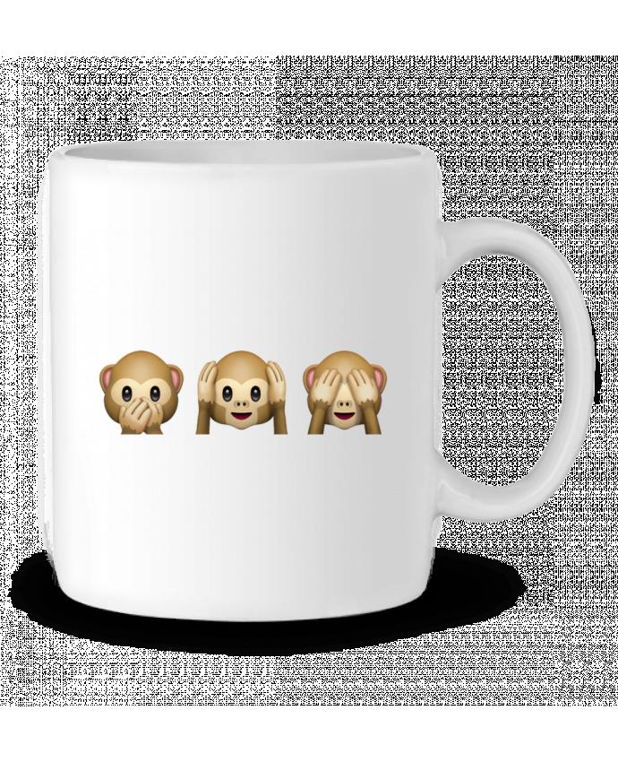 Taza Cerámica Three monkeys por Bichette