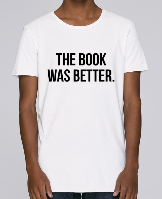 Camiseta Hombre Tallas Grandes Stanly Skates The book was better. por Bichette