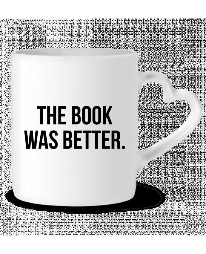 Taza Corazón The book was better. por Bichette