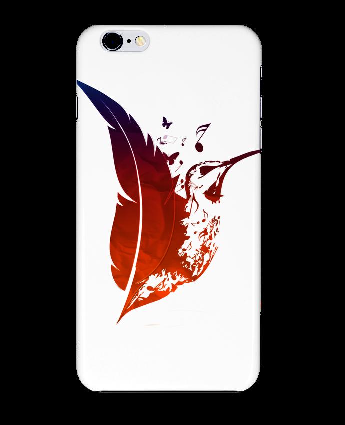 Carcasa Iphone 6+ plume colibri de Studiolupi