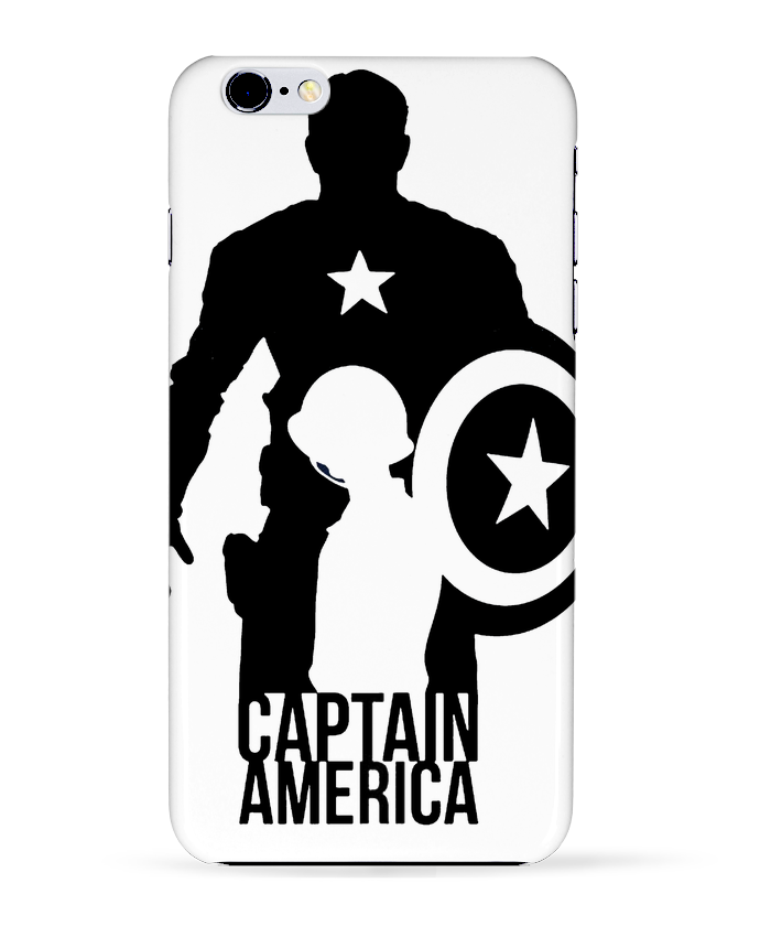 Carcasa Iphone 6+ Captain america de Kazeshini