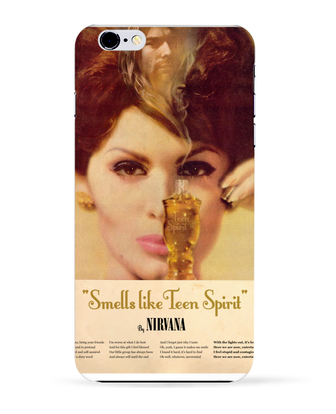 Carcasa Iphone 6+ Nirvana de Ads Libitum