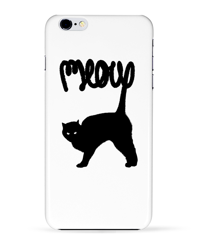 Carcasa Iphone 6+ Meow de Florent Bodart