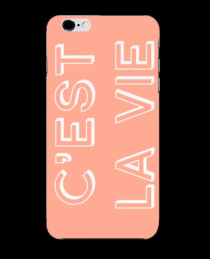 Carcasa Iphone 6+ C'est la vie de tunetoo