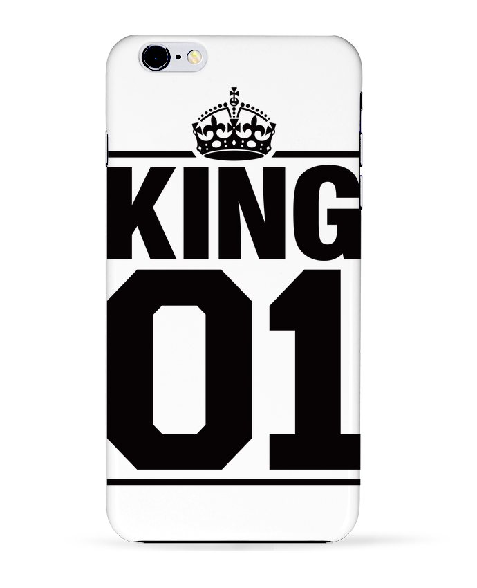Carcasa Iphone 6+ King 01 de Freeyourshirt.com