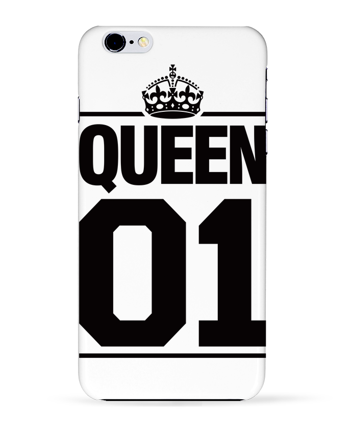 Carcasa Iphone 6+ Queen 01 de Freeyourshirt.com