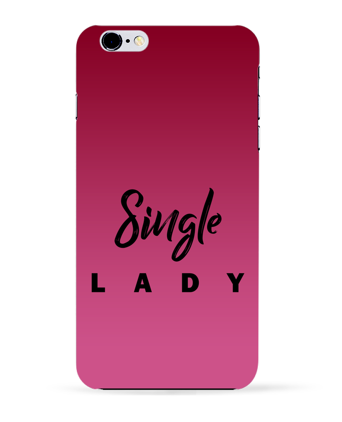 Carcasa Iphone 6+ Single lady de tunetoo