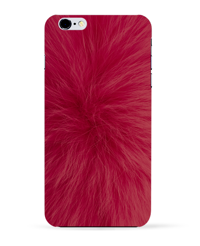 Carcasa Iphone 6+ Fourrure bordeaux de Les Caprices de Filles