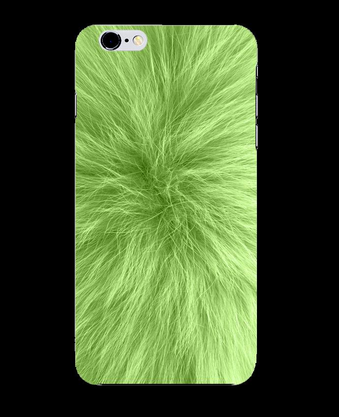 Carcasa Iphone 6+ Fourrure vert pomme de Les Caprices de Filles