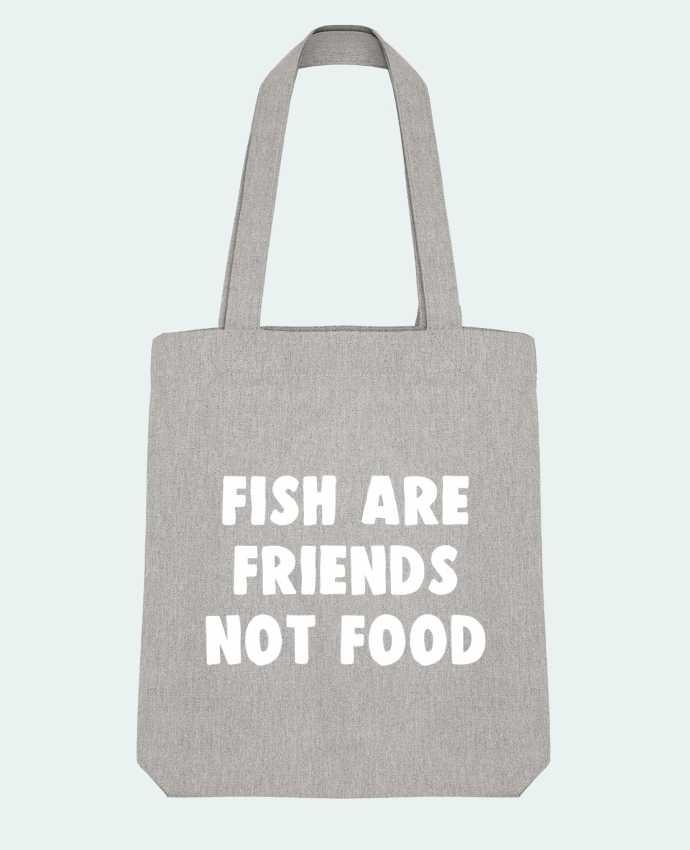 Bolsa de Tela Stanley Stella Fish are firends not food por Bichette
