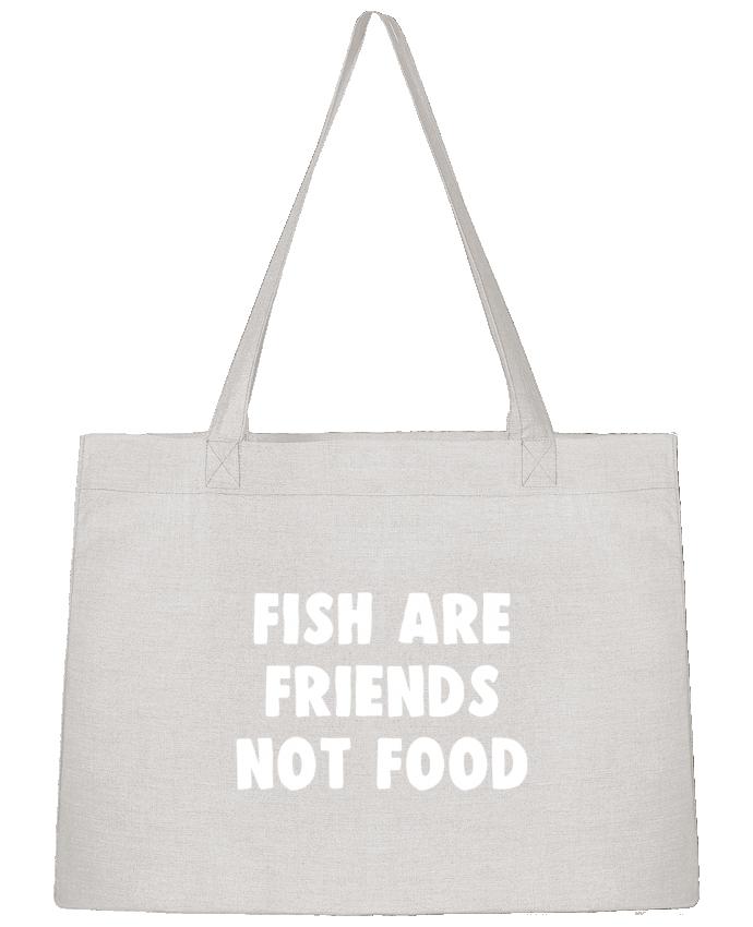 Bolsa de Tela Stanley Stella Fish are firends not food por Bichette