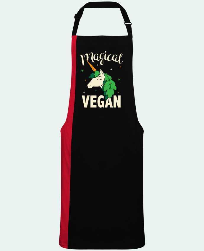 Delantal Bicolor Magical vegan por  Bichette