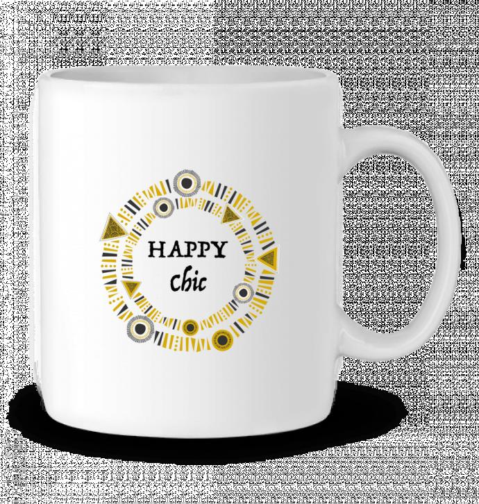 Taza Cerámica Happy Chic por LF Design