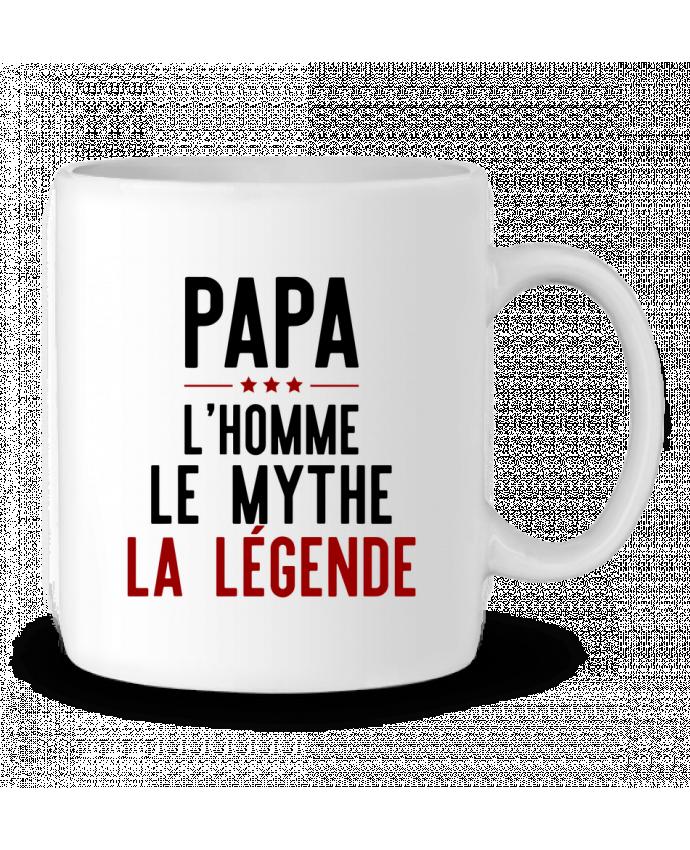 Taza Cerámica Papa la légende cadeau por Original t-shirt