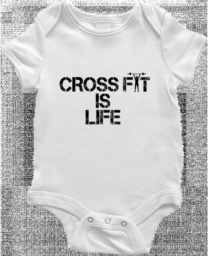 Body Bebé Crossfit is life por tunetoo