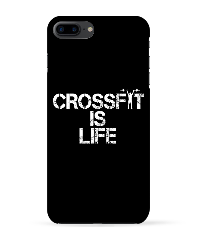 Carcasa Iphone 7+ Crossfit is life por tunetoo