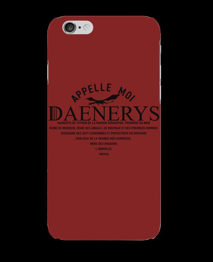 Carcasa  Iphone 6 Appelle moi Daenerys por tunetoo