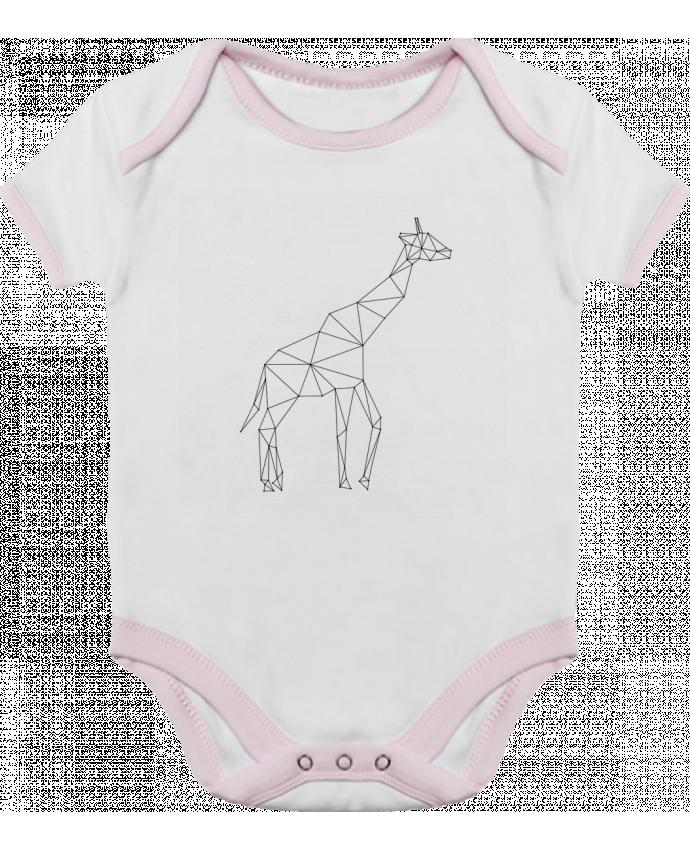 Body Bebé Contraste Giraffe origami por /wait-design