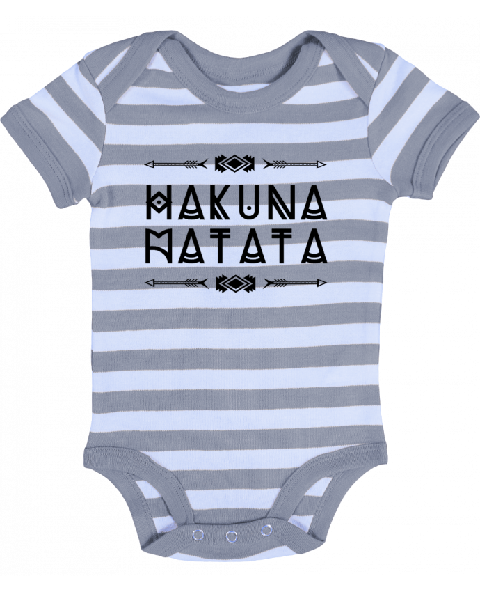 Body Bebé a Rayas hakuna matata - DesignMe