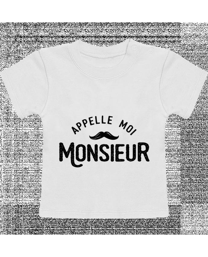 Camiseta Bebé Manga Corta Appelle moi monsieur manches courtes du designer tunetoo