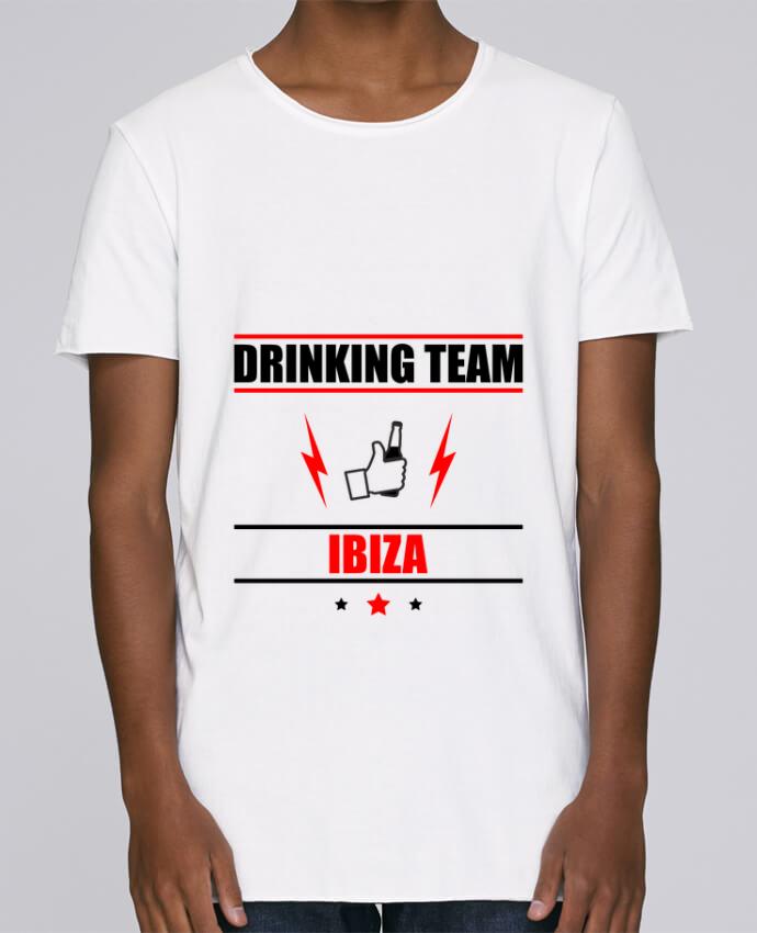 Camiseta Hombre Tallas Grandes Stanly Skates Drinking Team Ibiza por Benichan